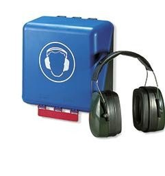 Box für Kapselgehörschutz