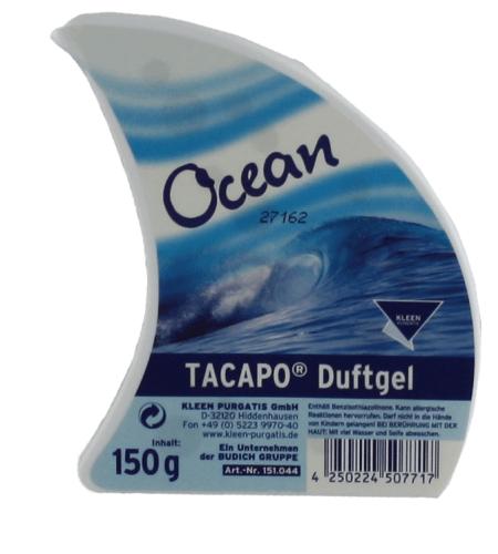 Tacapo Lufterfrischer Ocean Duftgel 150 g