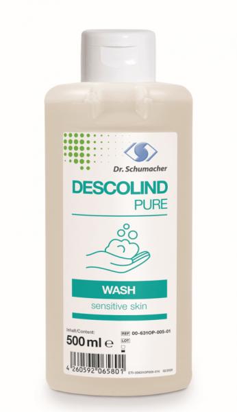 Descolind Pure Wash 500 ml Spenderflasche Waschlotion parfümfrei