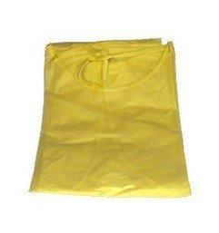 Beesana Einweg PP-Kittel gelb ohne Bündchen (10Stück)