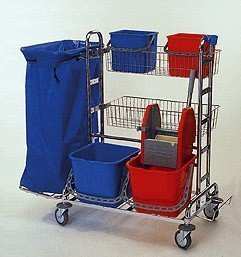 Fahrwagen - Spezial Reinigungswagen