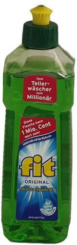 Spülmittel Fit 500 ml Flasche
