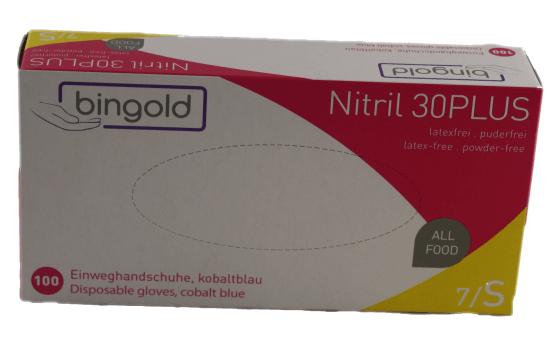 Bingold Nitril30Plus Einweghandschuh