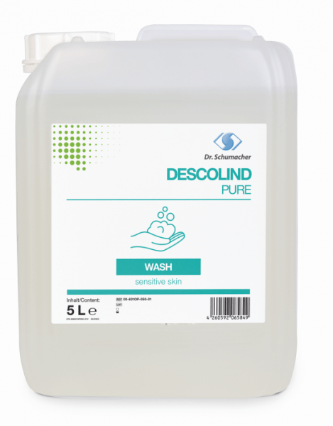 Descolind Pure Wash 5 Liter Kanister parfümfrei Waschlotion