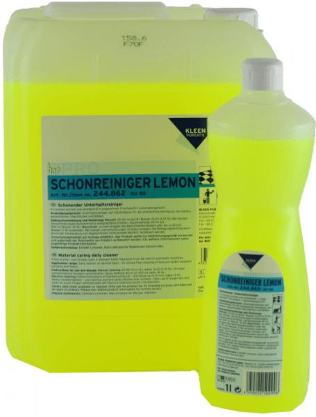 Kleen-Purgatis-Schonreinigerr-Lemon-Oberflächenreiniger-10 Liter- Alkoholreiniger-Frischeduft- 244862