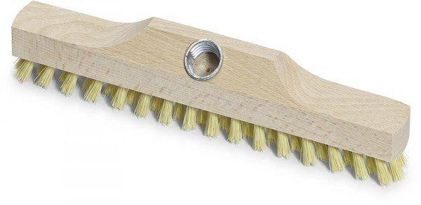 Aufnehmer Wischer Holz mit Metallgewinde 29 cm Fibre