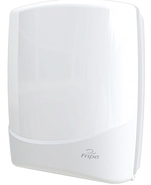 Fripa Handtuchspender groß Kunststoff weiß für ca 750 Blatt