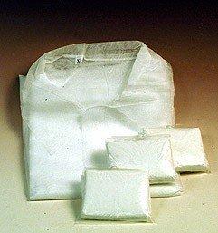 Einwegkittel mit 4 Druckknöpfen Vlies (PP) XL VE 20 Stück / Paket