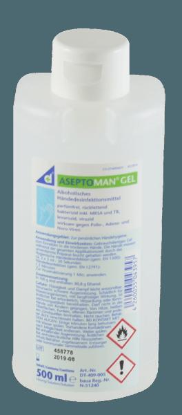 Desomed Aseptoman Gel 500 ml Spenderflasche