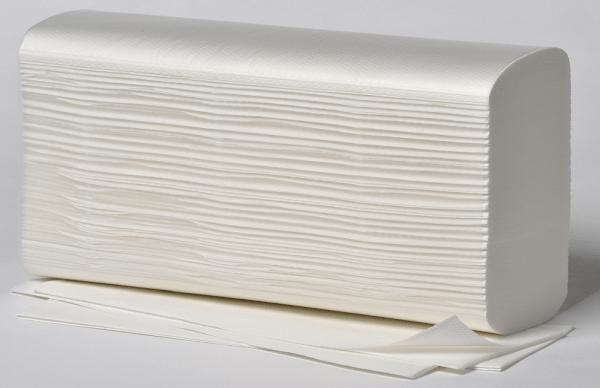 Tapira Papierhandtuch 25 x23cm Natur 5000 Bl. Z-Falzung 20x250Bl. 1-lg. natur krepp grau