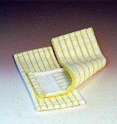 Micro Borstenmopp weiß / gelb 50 cm