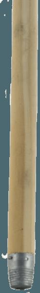 Holzstiel mit Gewinde für Besen und Aufnehmer