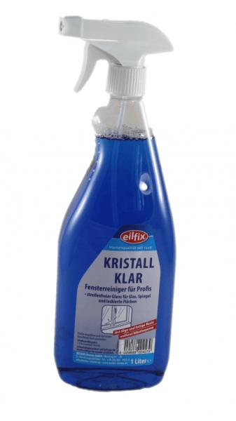 Glasreiniger Kristall mit Pistole 1 Liter Flasche Kennzeichungsreie
