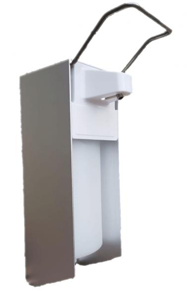 Desinfektionsmittelspender 500 ml Alugehäuse Kunststoffpumpe