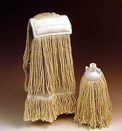 Nasswischmopp rund aus Baumwolle