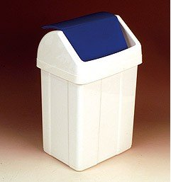 Schwingdeckeleiemer weiß (50 Liter)