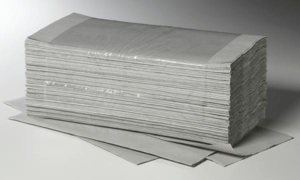 Fripa Papierhandtuch Falthandtuch 1 lagig natur 25 x 23 cm 5000 Blatt im Karton
