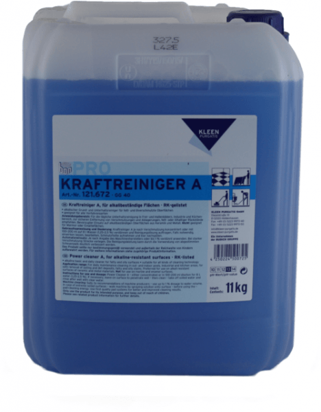 Kleen Purgatis Kraftreiniger A Unterhaltsreiniger 11 kg Kanister