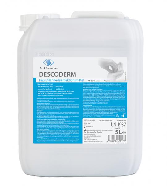 Descoderm Hautdesinfektion - Händedesinfektion 5 Liter Kanister