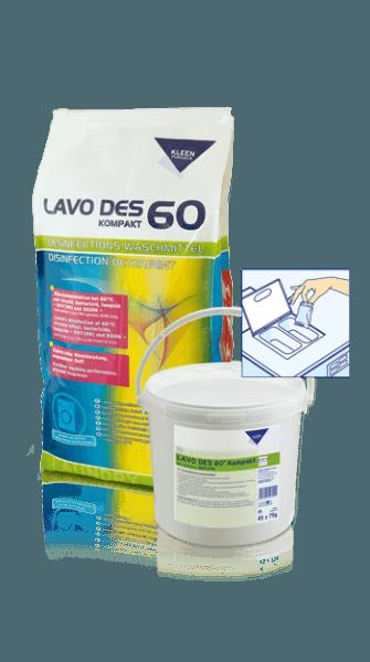 Kleen LAVO DES 60 kompakt 15 Kg Sack
