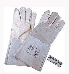 Schweißerhandschuh 35 cm Kombi