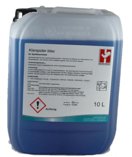 Klarspüler blau sauer 10 Liter Kanister für Spülmaschinen