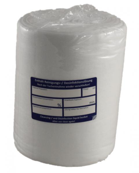 K - WIPES Wischtücher 18 Rollen a 90 Tücher 100% PET 60g/m² Einweg Tücher zur Flächendesinfektion