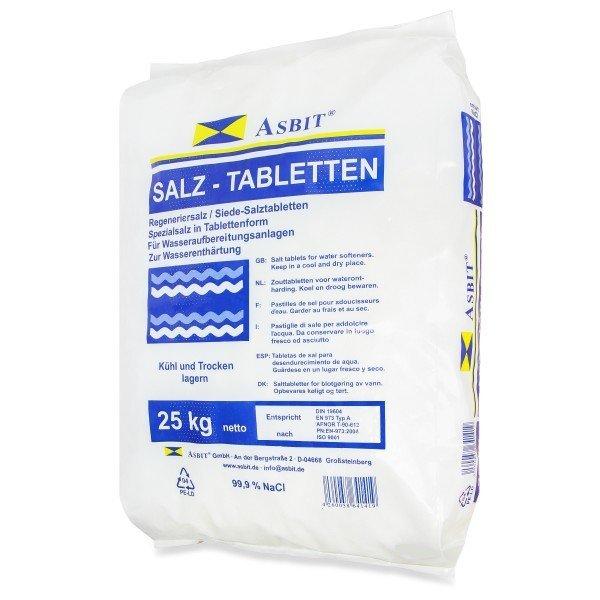 Asbit Salz -Tabletten 25 kg Regeneriersalz Tabletten zur Wasserenthärtung
