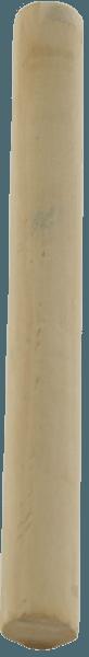 Holzstiel ohne Gewinde 23,5 mm Durchmesser