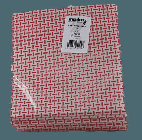 Meiko Wischtuch Universaltuch III rot Verpackung 10 Stück