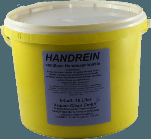 Handwaschpaste Handrein 10 Liter Eimer