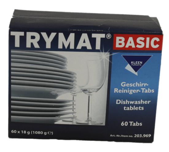 Geschirr-Reiniger Basic Trymat 60 Tabs Kleen Purgatis