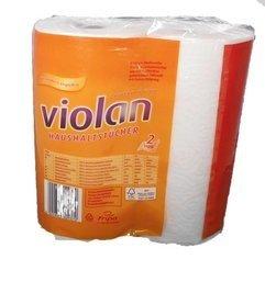 Küchenrolle VIOLAN 2 lagig Rolle a 96 Blatt, unterverpackt 14x 2 Rollen 28 Rollen /Paket