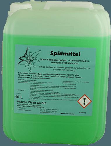 Spülmittel-Edelweiß-10 Liter-Kanister-Krause Clean GmbH- 244892