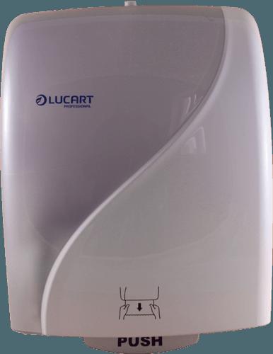 Lucart Autocut IDENTITY Handtuchrollenspender weiß