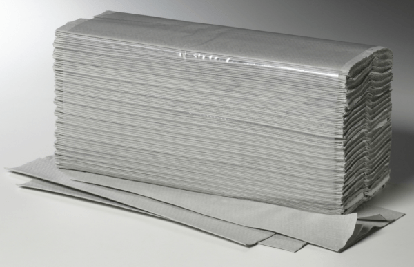 fripa Papierhandtuch 25x33cm Natur3120 Bl. Lagenfalz 20x156 Bl.Kart. # 4111101 Plus 1-lag. C-Falzung