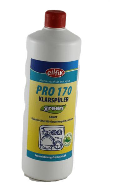 """Klarspüler sauer 1 Ltr. """"green"""" PRO 170 Kennzeichnungsfrei VE 12"""