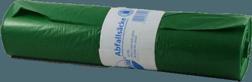 120 L Müllbeutel Abfallsack grün Typ 60 700x1100mm,10 Roll. a 25 Stück 22005 Deiss