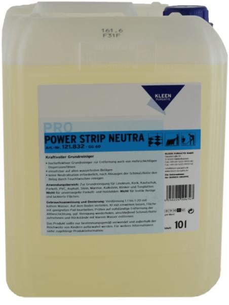 Kleen Purgatis Power Strip Neutra Grundreiniger 10 Liter.