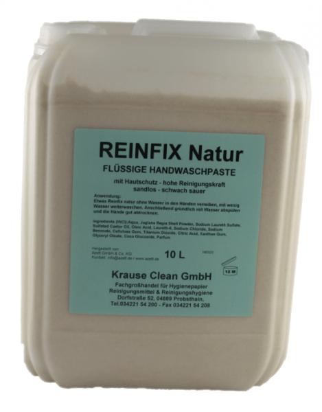 Azett-Reinfix-Natu-10-Liter-Kanister-Handreiniger-Handreinigungscreme-Handwaschpaste-fließfähig