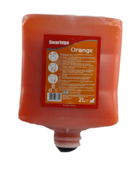 Deb Swarfeaga Orange 2 Liter Flasche