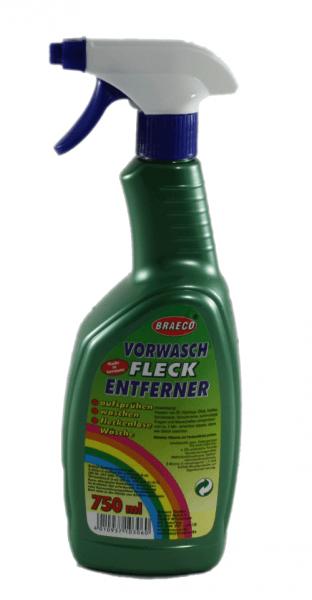 Braeco Vorwaschfleckentferner Vorwasch-Spray 750ml Fla. mit Sprayer