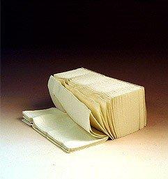 Fripa Papierhandtuch Comfort 25 x 23 cm weiß 3000 Blatt V-Falz, Zickzack-Falz