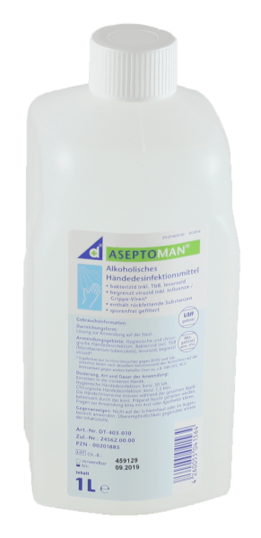 Desomed Aseptoman Händedesinfektion 1 Liter Euro Spenderflasche