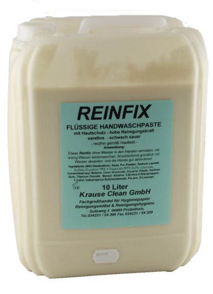 Azett-Reinfix-10-Liter-Kanister-Handreiniger-Handreinigungscreme-Handwaschpaste-fließfähig