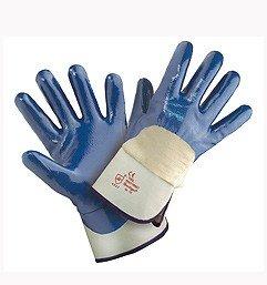 Arbeitshandschuhe Nitril blau ST, Größe 10