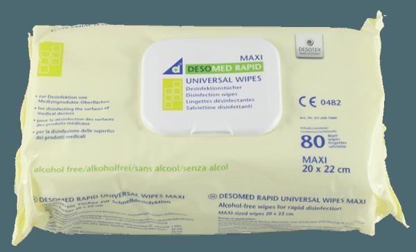 Desomed Rapid Universal Wipes 80 Tücher