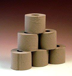 Toilettenpapier 400 Blatt naturell 64 Rollen 1 lagig