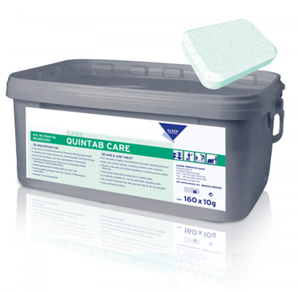 Kleen Quintab Care Wischpflege Tab 160Tabs Transportbox