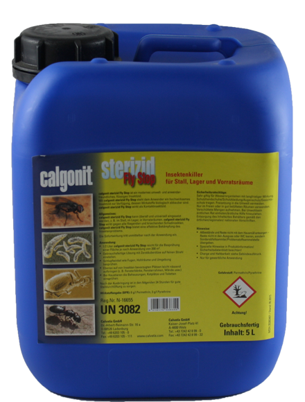 Calgonit sterizid Fly Stop 5 Liter